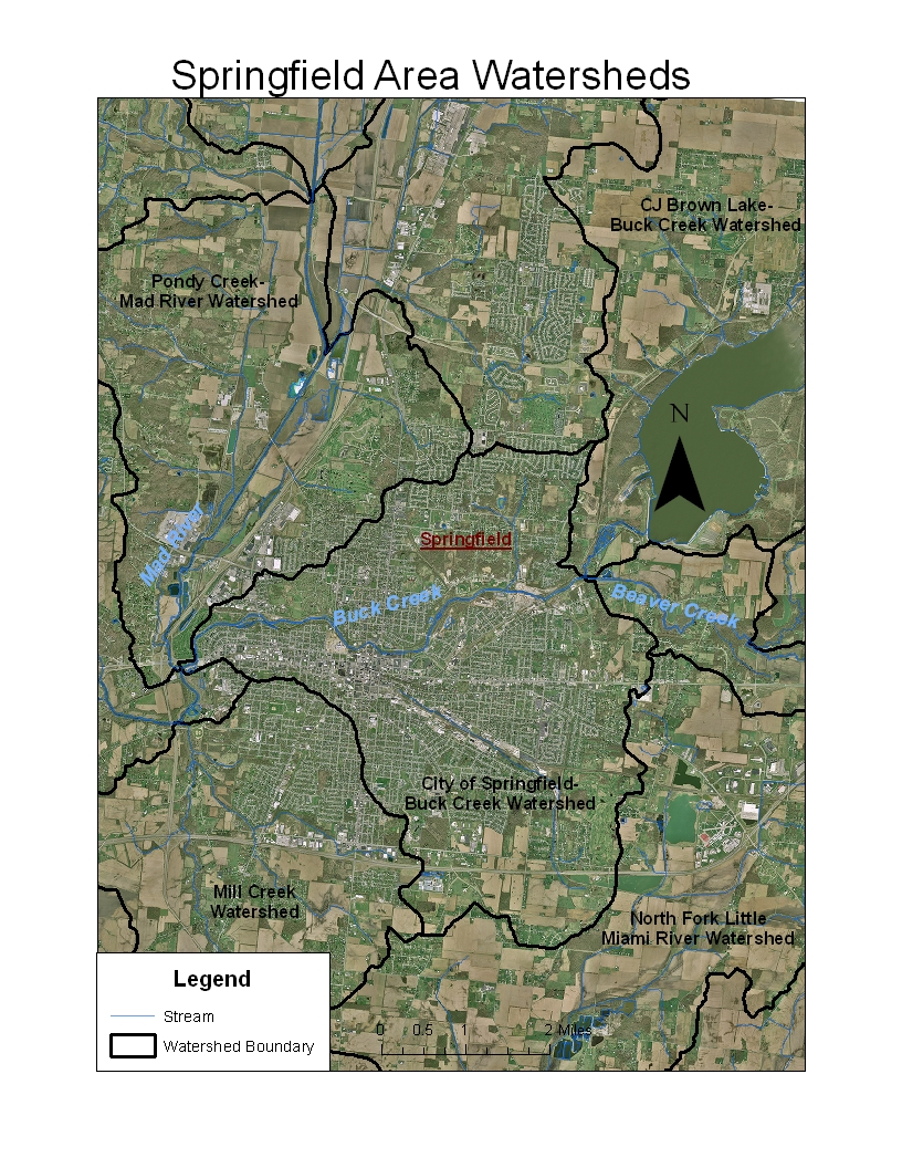 Springfield Area Watersheds