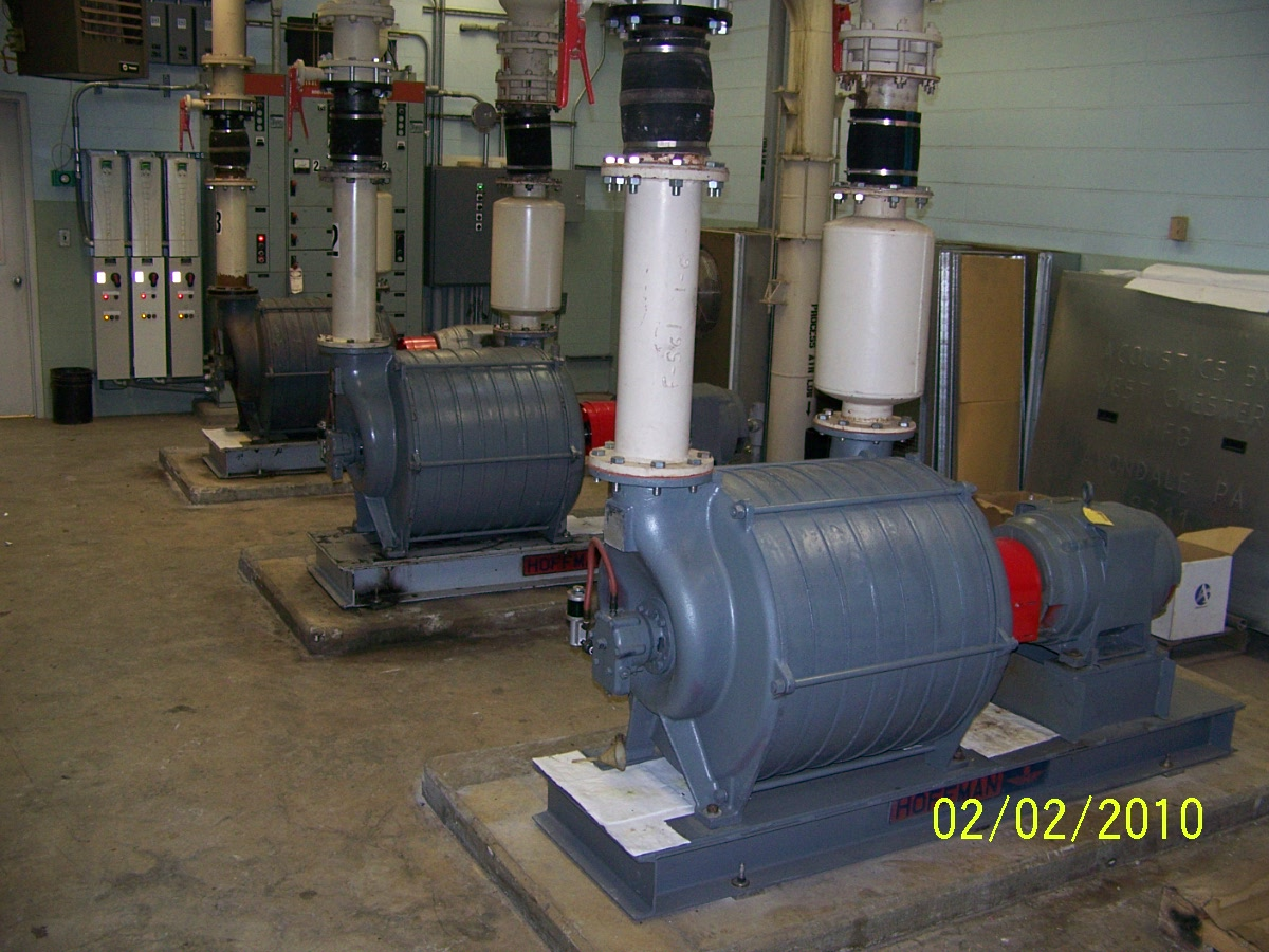 Water Seal For Centrifugal Blowers : Liquid process virtual tour wastewater treatment plant