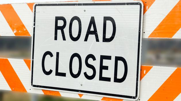 Road Closure at S. Fountain Ave. and Clark St.