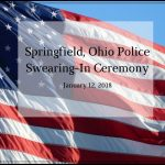 Police Swearing-In Ceremony