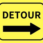 Traffic Detours and Delays