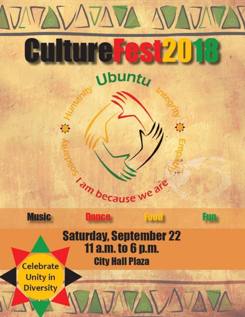 CultureFest 2018 Flyer