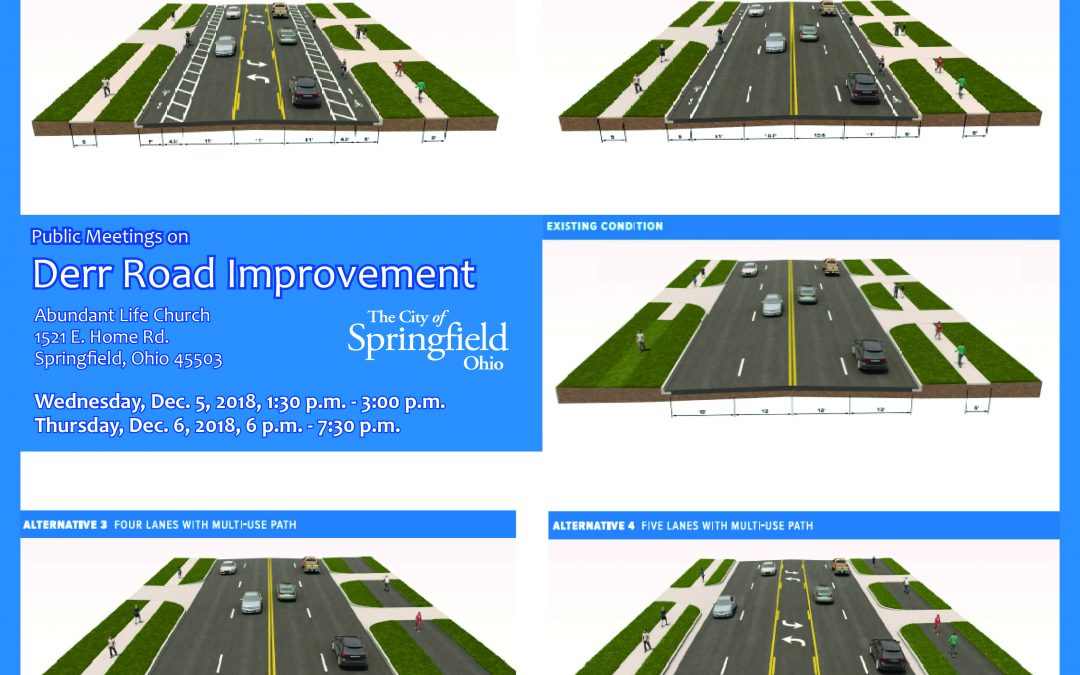 Public Meetings on Derr Road Improvement