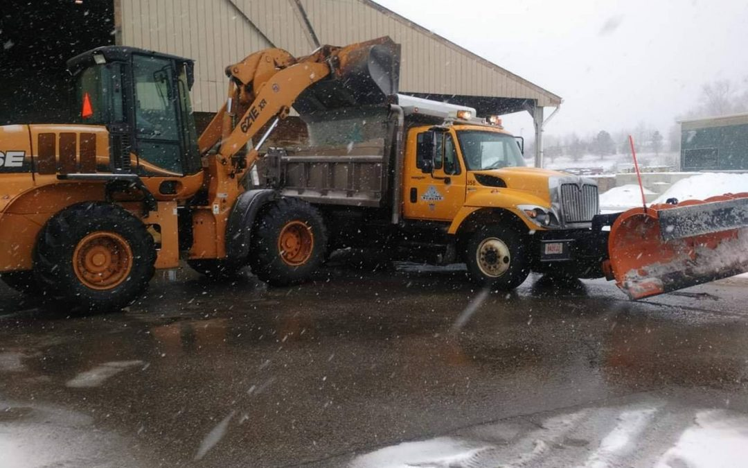 Service Crews Stay Ahead of the Weather During Weekend Snowfall