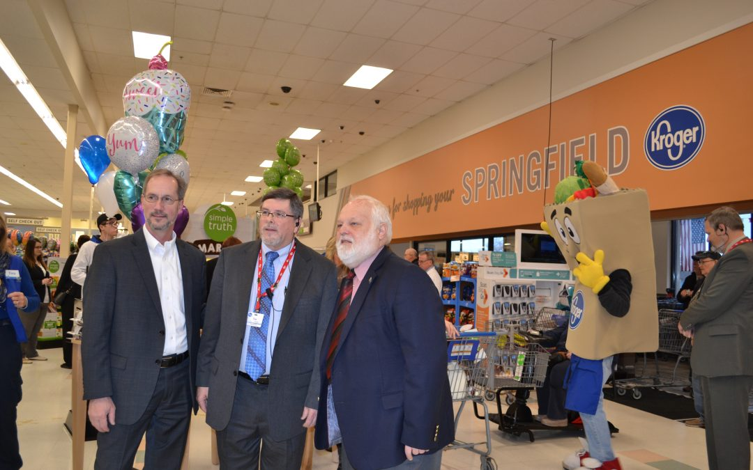 Mayor, City Manager, Attend Kroger Grand Opening