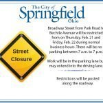 Traffic on Broadway to be Restricted