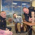 Springfield Police Take Part in Jenga Tournament