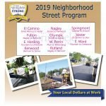 2019 Neighborhood Street Program Announced