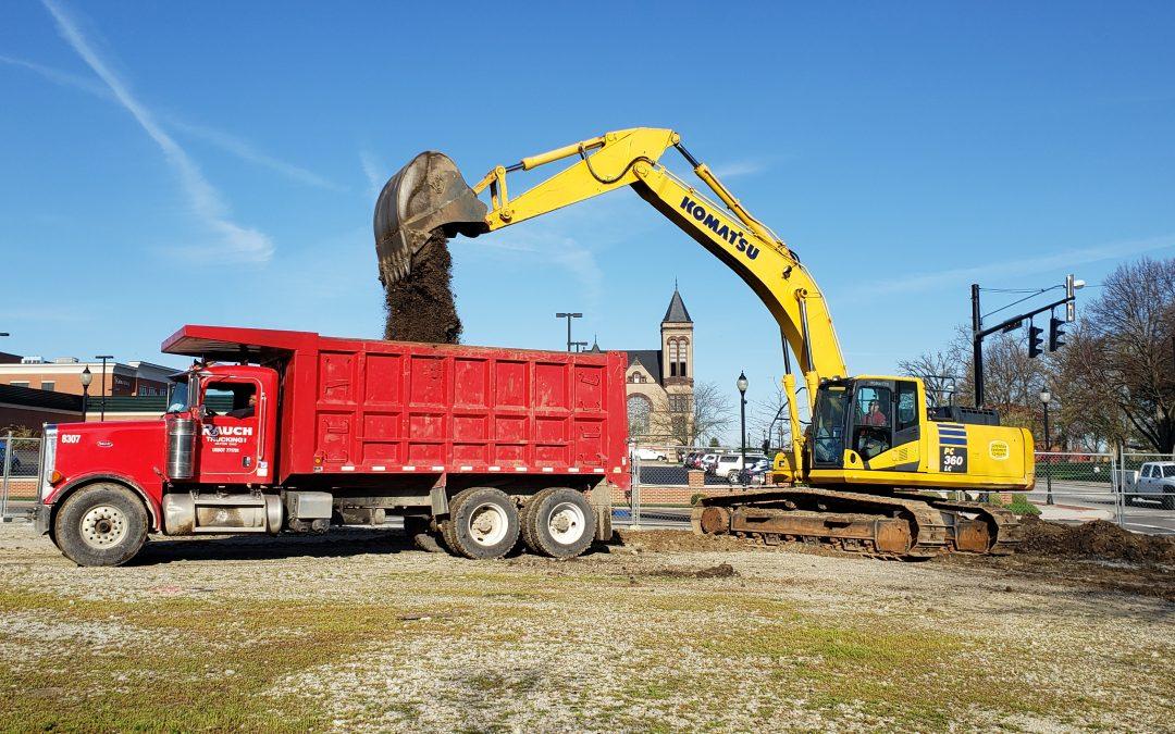 Crews Break Ground for Downtown Housing Development