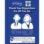 2019 National Public Safety Telecommunicators Week