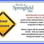Road Closure – May 23, 2019