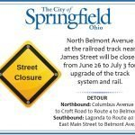 Belmont Avenue to Close at James Street