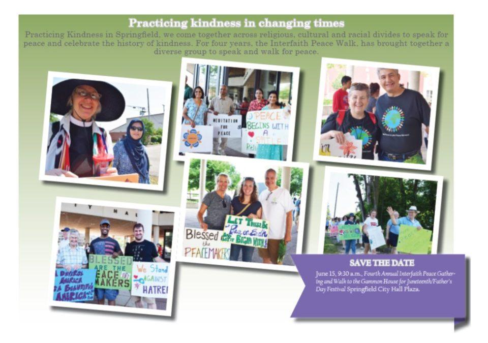 Fourth Annual Interfaith Peace Walk Saturday