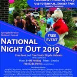 National Night Out Scheduled This August