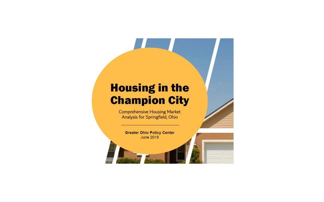 Citywide Housing Study Goes Public