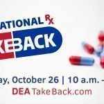 DEA National Prescription Take Back Day 2019