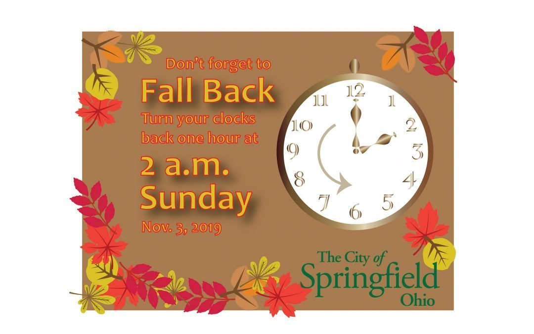 Clocks Turn Back This Weekend