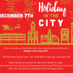 Holiday in the City 2019