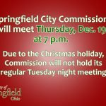 Commission Will Hold Regular Meeting Thursday
