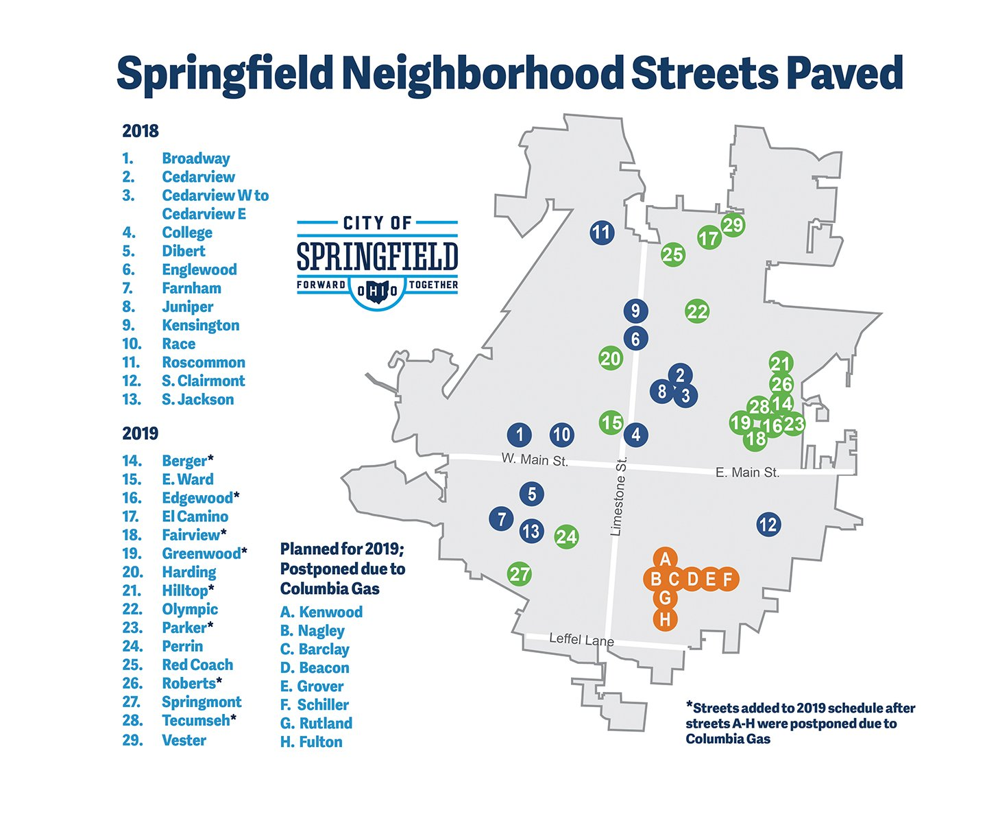 See A Map of Streets Paved 2018-2019