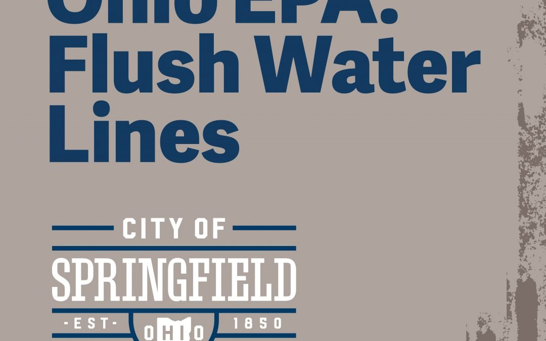 Ohio EPA Advises Flushing Water Lines as Buildings Reopen