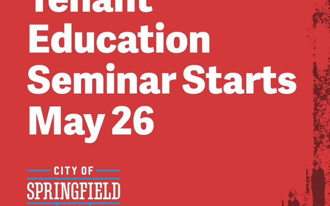 Tenant Education Seminar Will Proceed Online