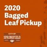 2020 Bagged Leaf Pickup Dates Announced