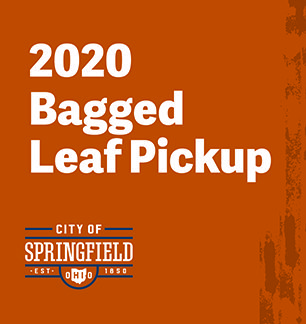 2020 Bagged Leaf Pickup Dates Announced