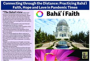 Global Education Speaker Event to Highlight Baha'i Faith